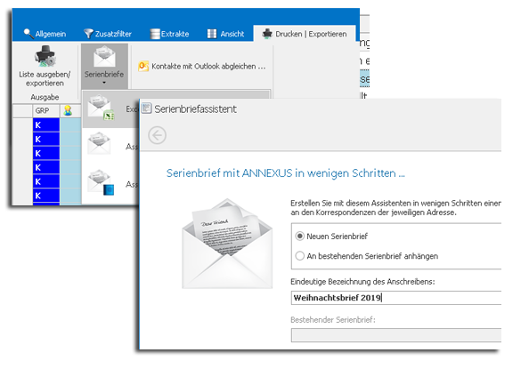 ANNEXUS Slider Adresse Serienbriefe V01 - Marketing